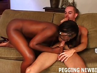 I Love Pounding White Boy Ass With My Massive Strapon