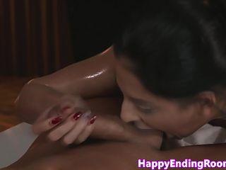 Erotic Massage Clients Hot Ass Gets Jizzed