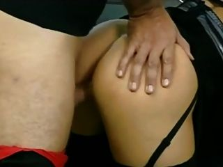 Julia Taylor 3some Anal In Stockings # 42