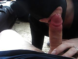 Me Sucking Cock In A Bdsm Hood.