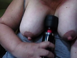 Titty Play Fuck With Vibrator