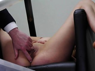 Miss April Syringed In The Chair Part 2