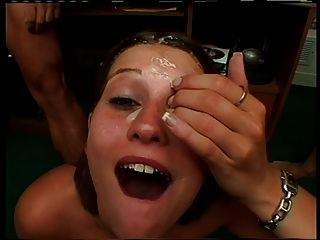 Girl Swallows 30 Loads
