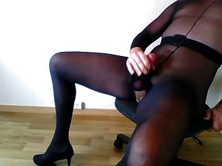 Cum In Pantyhose