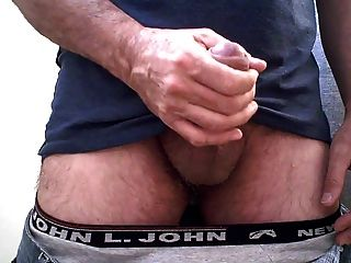Str8 Daddy Playing With His Cock