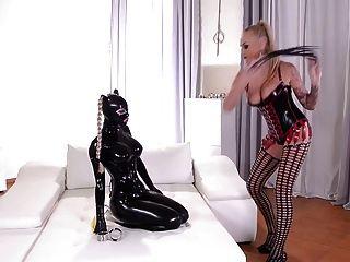 Latex Slave Punishment