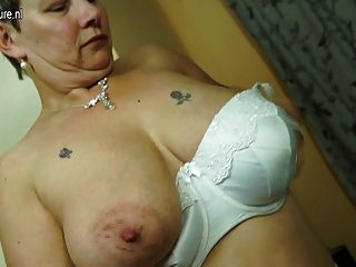 Busty Granny Hungry For Fuck