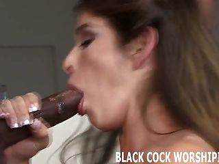 Big Black Dick Gets My Pussy Soaking Wet