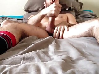 Str8 Guy Stroke & Cun On The Bed