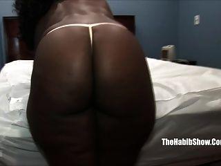 Thick Black Chocoalte Fucked By Hairy Paki
