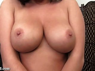 Busty Teen Girl Is Thirsty For Cum!