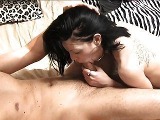 Pleasant Sex Between Sexy Brunette And Her Boyfriend