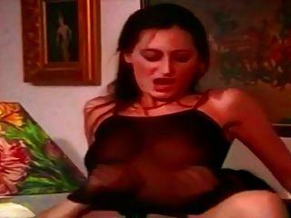 Vintage Dildo Ffm 3some Anal