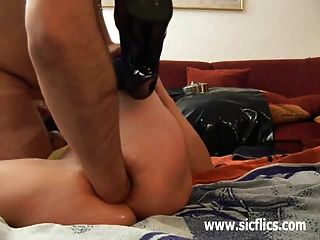 Extreme Anal Fisting And Urethral Dildo Fuck