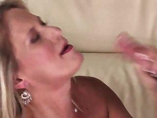 Mature Blonde Big Tits Milf Fucks Really Hard