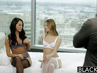 Blacked Two Girlfriends Jillian Janson And Sabrina Banks Sha