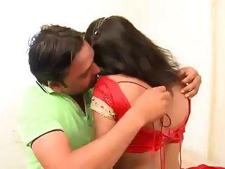 Indian Lady With Boyfriend