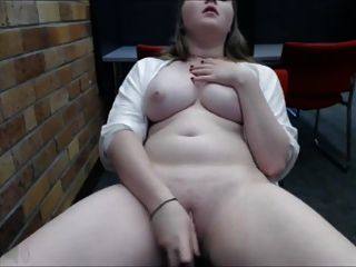 Beautiful Chubby Cums In Public Place