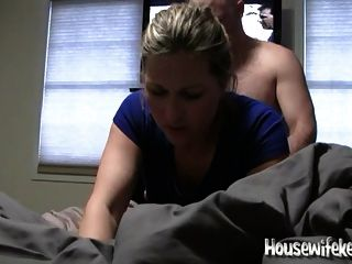 Nympho Wife Fucked In Amateur Homemade Sex Tape