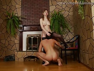 Coupledomination - He Gets Fucked Into The Wall