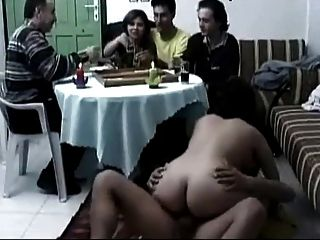 Arab Couple Taking A Break And Having Sex.