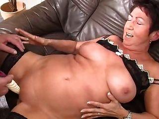 Grandpa Cum On Grandma Tits