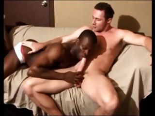Sexy Black Boy Gets Big White Meat