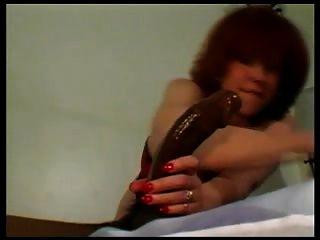Redhead Wife Fucks Her Black Bull