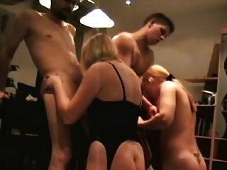 Amateur Foursome Swingers