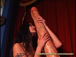 Extreme Monster Dildo Anal Mastrubation