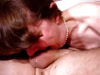 Mature Deep Throat, Could Even Swallow His Balls