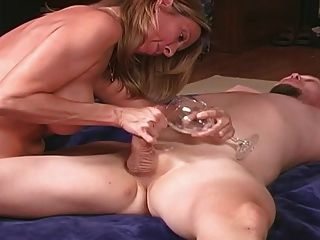 Wife Milks And Feeds Cuckold Husband