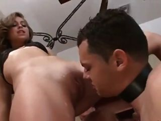 Young Princess Use Cuckhold Slave