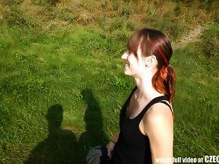 Czech Spy - Shy Girl Seduced For Sex With Stranger