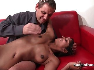 Casting Sublime Young French Slut Hard Plugged