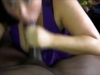 Fat Giving Sloopy  Hard Blow Job On A Bbc Cum Shot