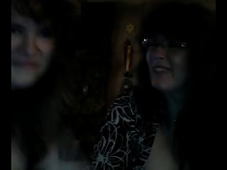 Mother And Not Her Daughter On Webcam