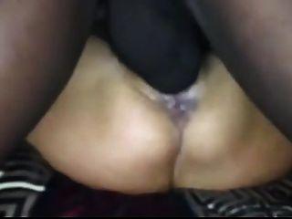 White Slut Pussy Fucked By Bbc.