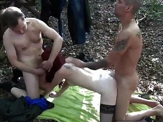 Stranger Join Fuck Slut Wife In Woods