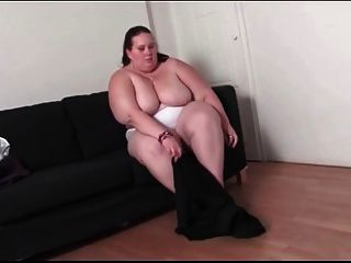 Bbw Strips And Fondles