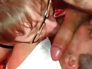 A Horny Couple Is Sucking My Dick