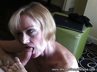 Amateur Milf Is A Cum Whore