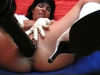 My Sexy Piercings German Pierced Milf With Huge Anal Toys
