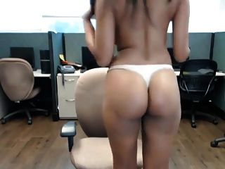 We webcam secretary fingering