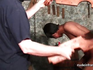 Busty French Black Sex Slave Fucked Hard In Bdsm