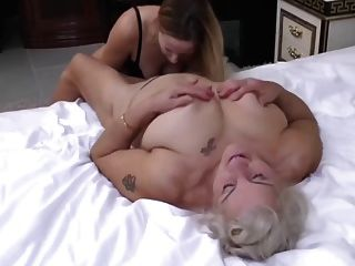 Old 72y  And Young 29y Lesbians