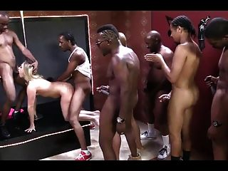 Wife Hard Gangbang Brutaly Fuck Black Cocks