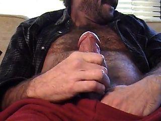 Hairy Bear Dad Explodes