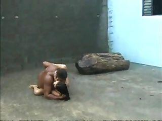 Hard Latin Sex In The Rain