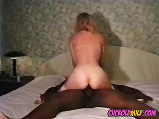 Cuckold Milf Interracial Hotel Party With Two Black Guys